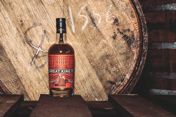 Compass Box's Great King Street Glasgow Blend offers a smoky, full flavor profile, a sharp contrast to the types of blended Scotch whisky that were popular in decades past.