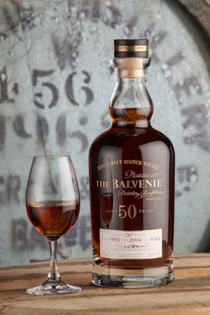 Even though it's priced out of reach for most consumers, The Balvenie 50-year-old adds to the brand's notoriety.