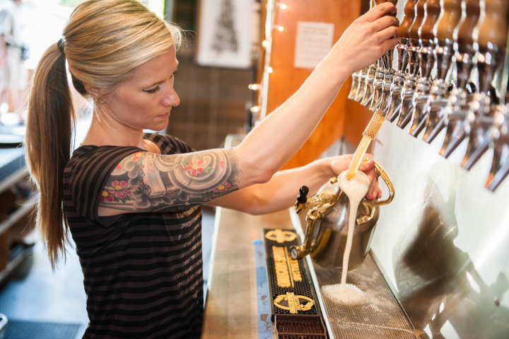 Growlers have become so popular that alternatives like the pressurized uKeg by GrowlerWerks (pictured) are gaining a following.