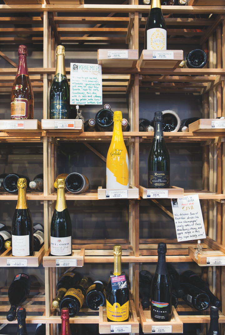 Located in the upscale St. Louis suburb of Clayton, The Wine Merchant caters to tastes that range from local standby Budweiser to high-end Champagnes.