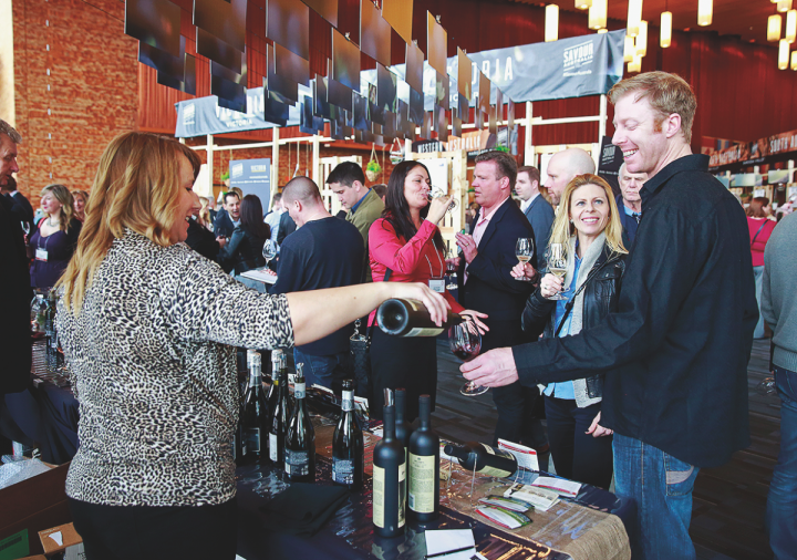 The trade group Wine Australia aims to build a premium position for the country's wines with events like Savor Australia (pictured).