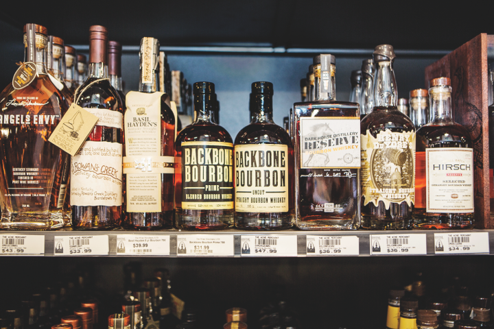 A host of American whiskies and Bourbons also garner their fair share of sales.