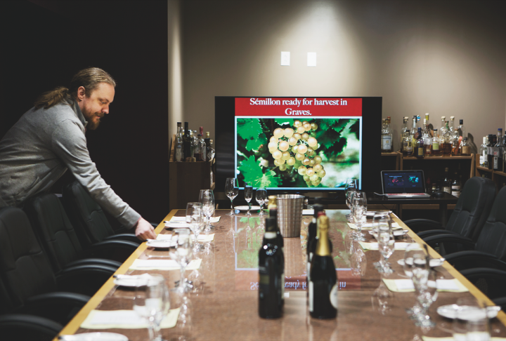 A range of in-store classes add to the appeal of The Wine Merchant. The company views consumer education and wine and spirits tastings as fruitful techniques for building sales.