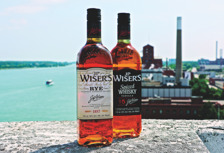 Pernod Ricard's J.P. Wiser's brand has expanded its U.S. portfolio, which now includes both rye whisky and spiced whisky expressions.