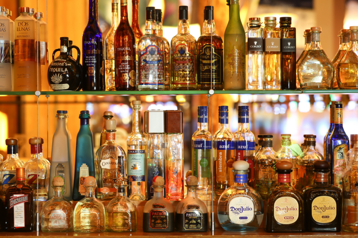 SolToro Tequila Grill features an extensive Tequila selection and a variety of whiskies.