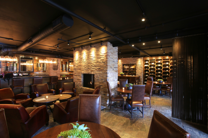 Stave Wine Cellar at the Inn at Spanish Bay in Pebble Beach, California, features local and international wines in an upscale setting. The concept also has a retail shop.