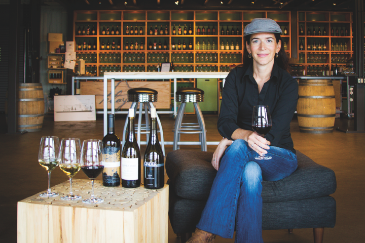 Melanie Krause cofounded Cinder winery in Garden City with her husband, Joe Schnerr. The company benefits from proximity to Oregon and Washington, where consumers have adventurous palates.