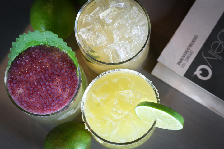 BellyQ offers a robust drinks program, driven by Asian-influenced signature cocktails.