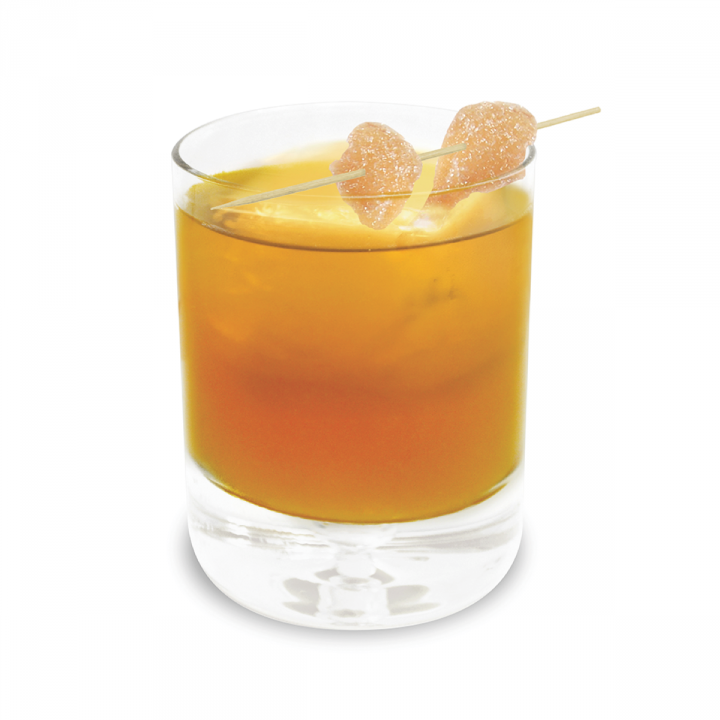 First invented in 2005, The Penicillin combines blended Scotch with lemon juice, honey, ginger and a peated malt whisky.