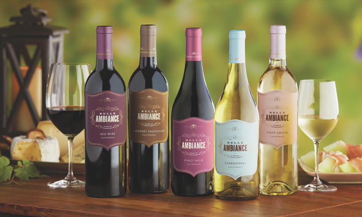 Delicato Family Vineyards' Belle Ambiance line has won over millennials with upscale packaging and an emphasis on issues like sustainability.