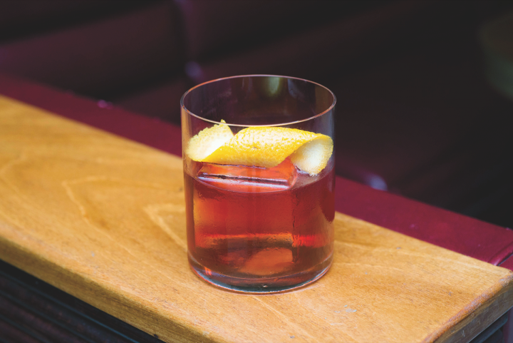 Classic cocktails like the Boulevardier—a traditional rye whiskey–based twist on the Negroni—have enjoyed a major revival. The Pikesville Boulevardier blends the rye whiskey with Carpano Antica Formula sweet vermouth and Campari aperitif.