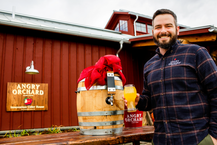 Ryan Burk is head cider maker at Angry Orchard's recently opened Cider House in New York's Hudson Valley. He joined the company in 2015 from Fennville, Michigan–based craft producer Virtue Cider.