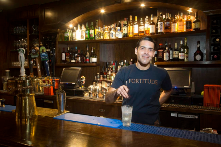 Owned by Giuseppe González (pictured), Suffolk Arms in New York City's Lower East Side offers creative cocktails created by all-star mixologists.