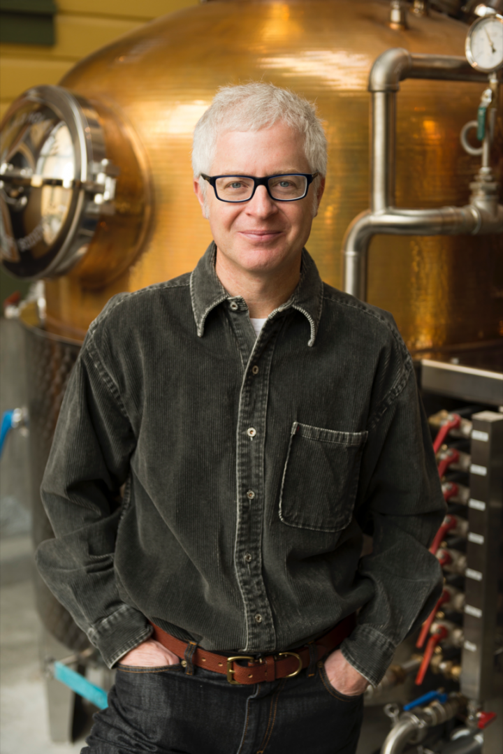 High West founder David Perkins built the brand on his unique whiskey blends.