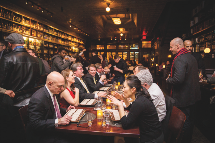Some on-premise operators such as Jack Rose Dining Saloon (pictured) in Washington, D.C., curate a deep and wide-ranging selection of independently bottled Scotch, often including rare whiskies from closed distilleries.