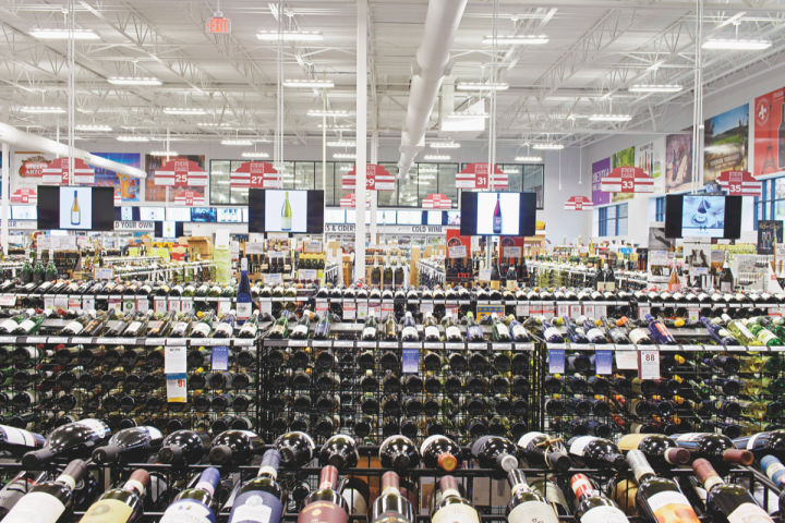 Lukas Wine and Spirits Superstore is a 50,000-square-foot powerhouse in Overland Park, Kansas. The location carries 8,500 SKUs across beer, wine and spirits and competes on price with big-box chains.