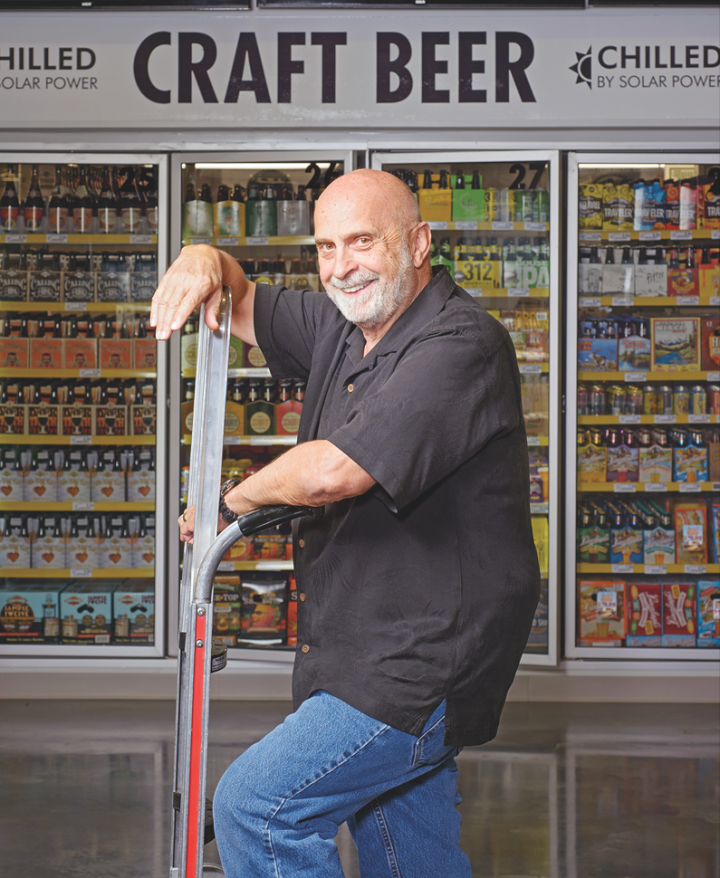 Harry Lukas operates one of the largest single-unit retail beverage alcohol stores in the country.