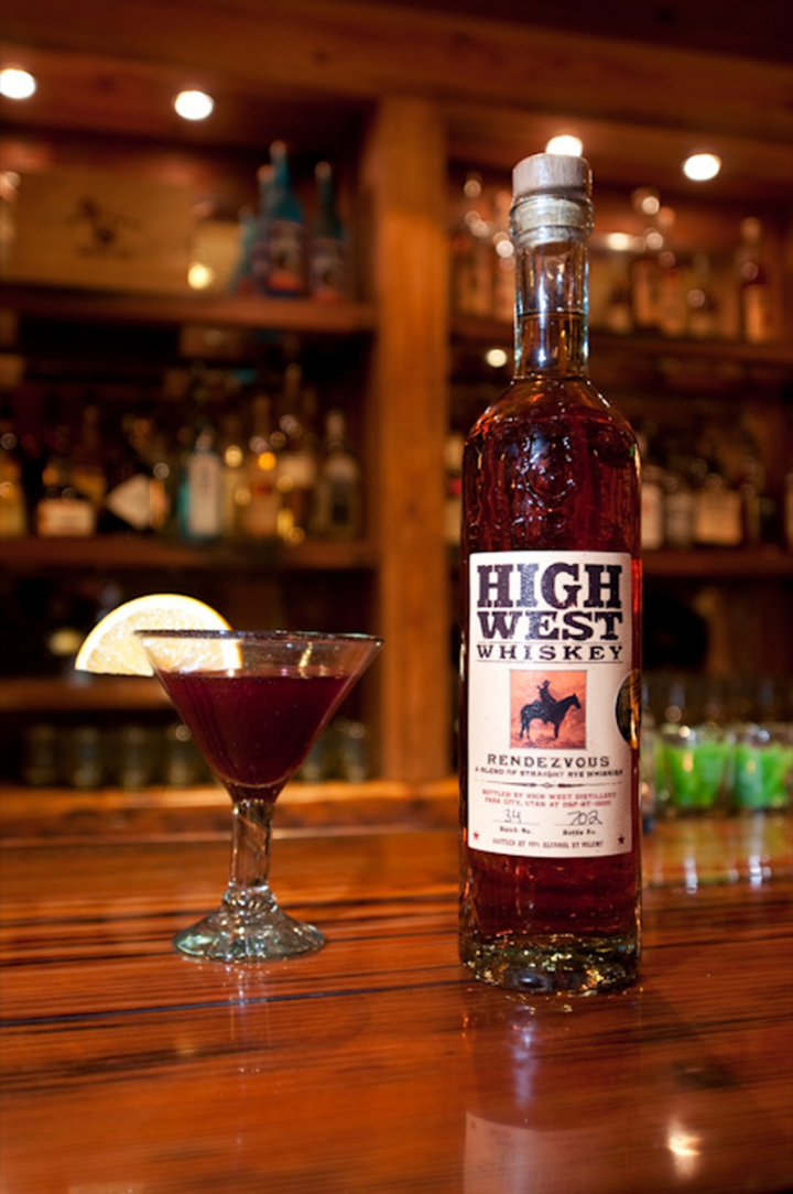 Although High West plans to release its own-distilled whiskies, the flagship Rendezvous rye (pictured) and other sourced products will remain part of the core portfolio.