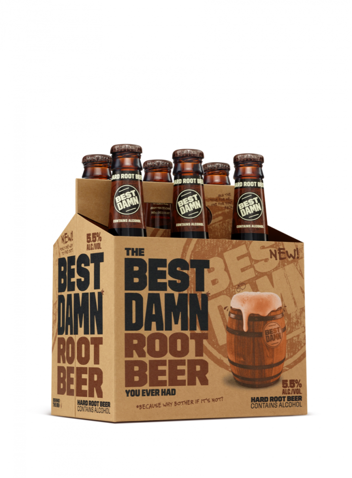 Anheuser-Busch launched Best Damn Brewing Co. in December 2015 with a hard root beer, adding a cherry cola variant in March 2016. More flavors are planned.