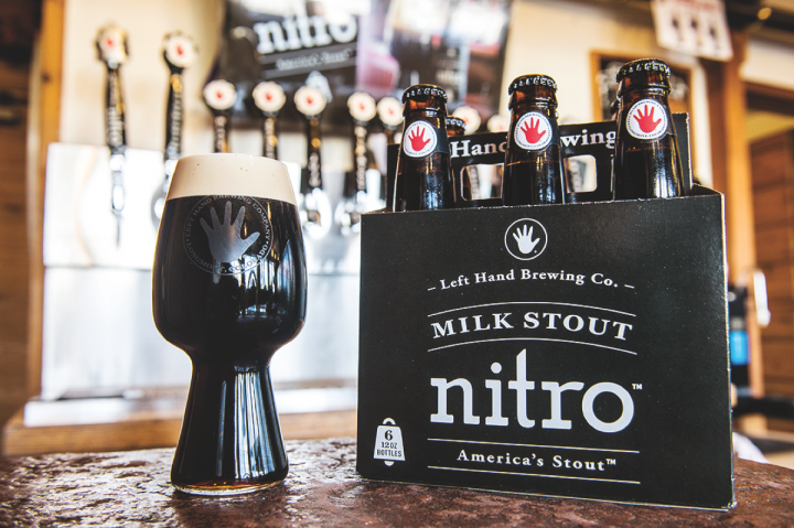 Nitrogenated brews are pushing the craft beer envelope. Offerings like Left Hand Brewing Co.'s Nitro milk stout are growing in popularity as the craft audience matures.