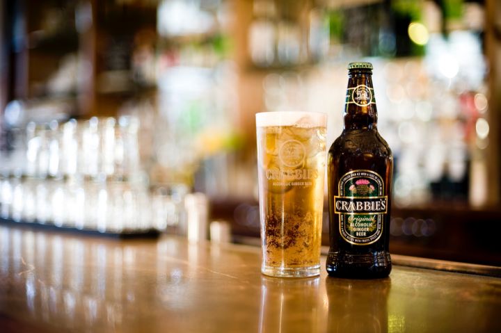 Crabbie's alcoholic ginger beer recently reached the 1-million-case mark in the United States after less than four years on the market.