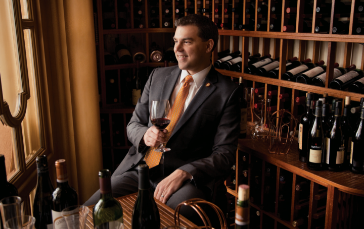As master sommelier and wine director at Bellagio, Jason Smith manages nearly 100,000 bottles.