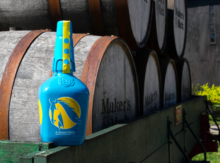 The Maker's Mark American Pharoah limited-edition bottle celebrates the first Triple Crown winner since 1978.