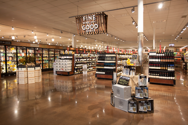A typical Raley's carries 1,500 to 2,000 wine SKUs, and selections from New Zealand and France do well.