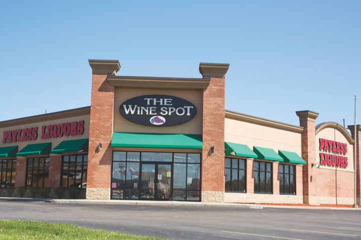 Payless Liquors has 25 locations in the Indianapolis area (Greenwood, Indiana, location pictured).