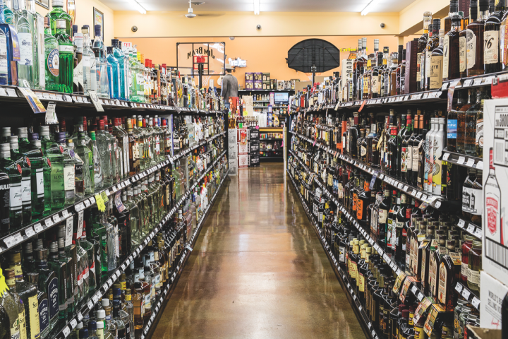 Spirits represent 42 percent of sales at Payless. Beer is close behind at 39 percent, followed by wine at 12 percent.