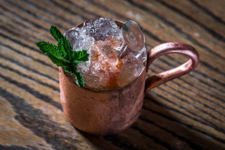At Washington, D.C., bar Quarter+Glory, the Bound for Buenos Aires mixes apple cider vinegar with rum, banana liqueur, spiced apple syrup and bitters to create a complex, distinctive flavor profile.