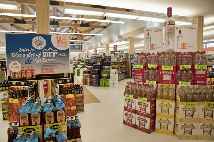 The New Hampshire Liquor Commission recently opened its largest-ever retail location.