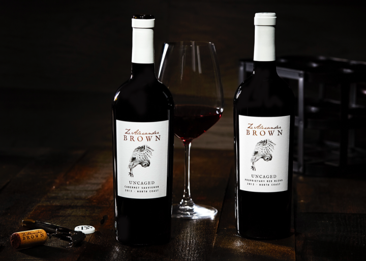 The Z. Alexander Brown range features a Cabernet Sauvignon and a red blend, currently in the 2014 vintage.