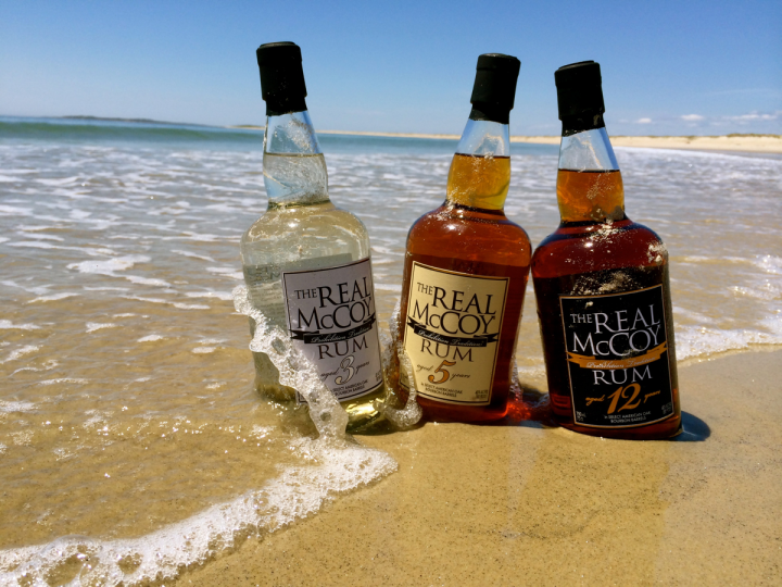 Aged in Bourbon barrels, The Real McCoy rum includes 3-year-old, 5-year-old and 12-year-old expressions.