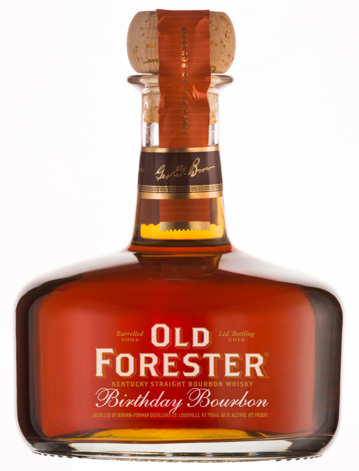 birthday bourbon Old Forester Birthday Bourbon 2016 Hits The Market – birthday bourbon