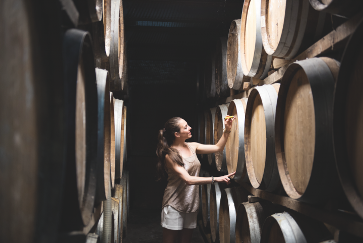 International whiskies like Brenne, made in Cognac, France (founder Allison Patel pictured) are finding a following.