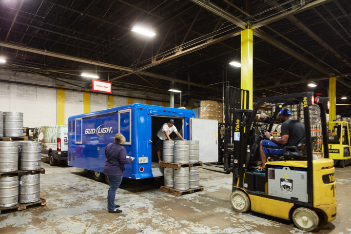 Package stores lead Lakeshore Beverage's business, followed by grocery and c-store channels.