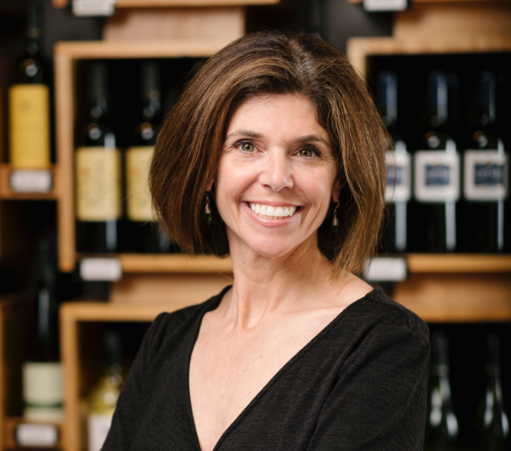 Christine Elder runs three Blanchards Wines & Spirits stores in the Boston area. The chain was founded in 1838.