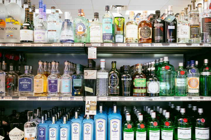 Blanchards has seven stores in Massachusetts, with ownership split up between family branches. The stores stock around 1,500 spirits SKUs (pictured).