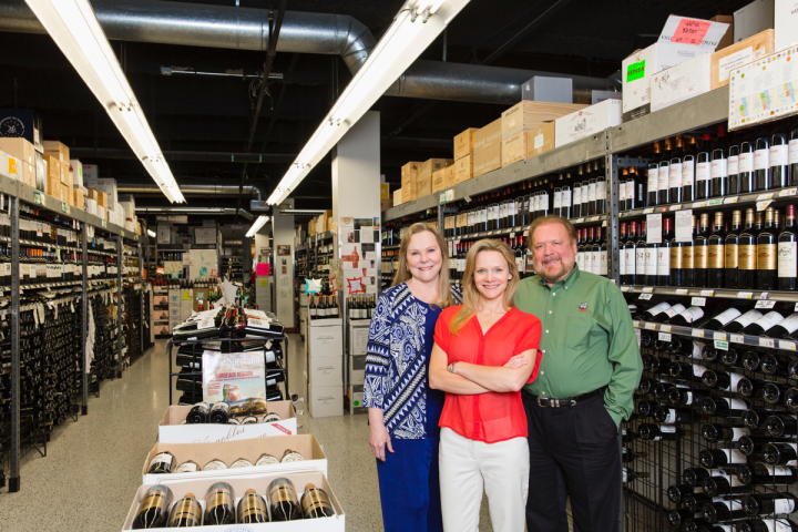Lisa and her parents, Lindy and John Rydman, oversee the company and make decisions together.