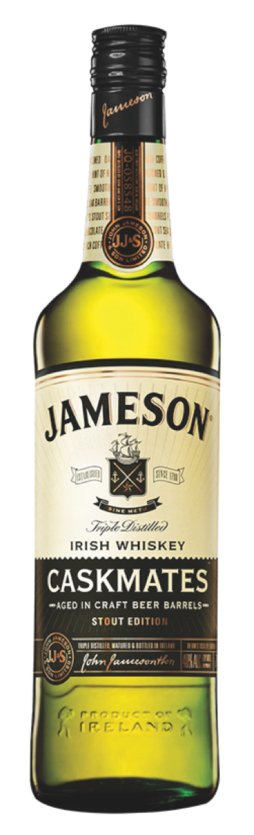 Jameson Caskmates depleted 42,000 cases in its first partial year on the market.