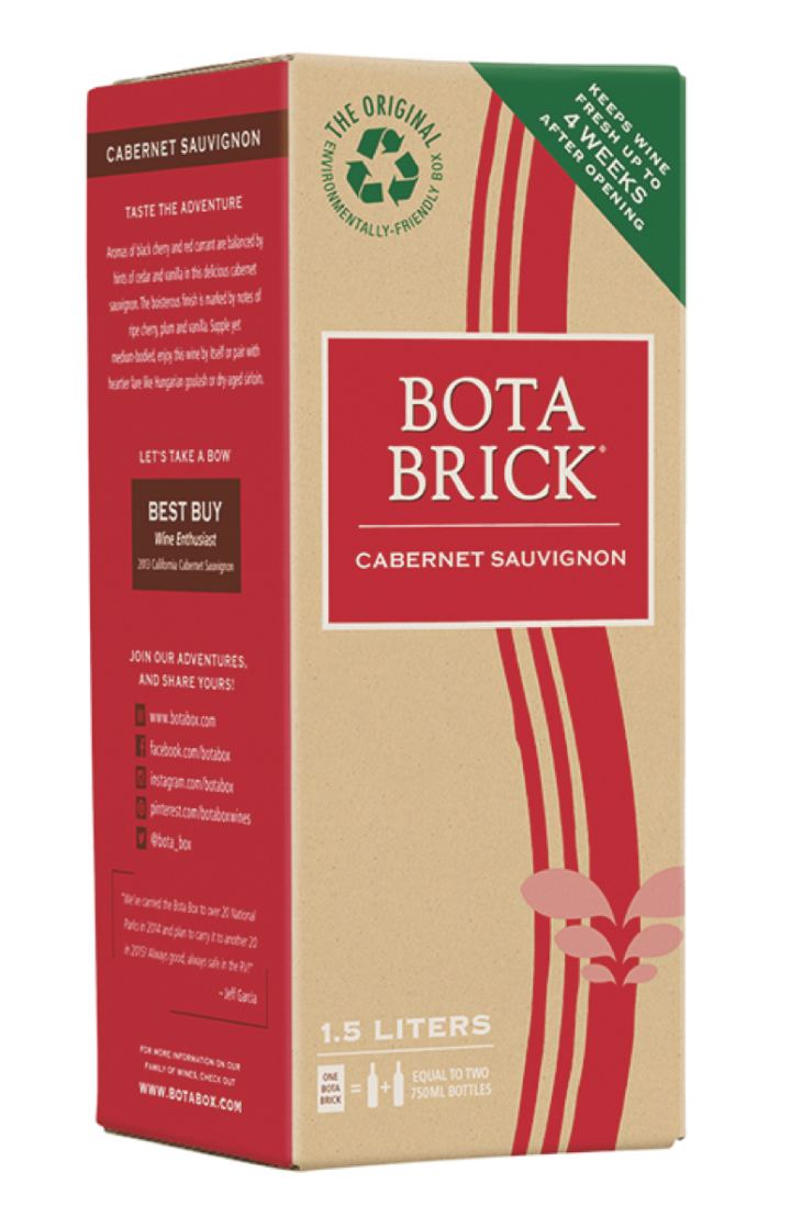 An extension of the four-million-case Bota Box brand, Bota Brick depleted 160,000 cases in 2015.