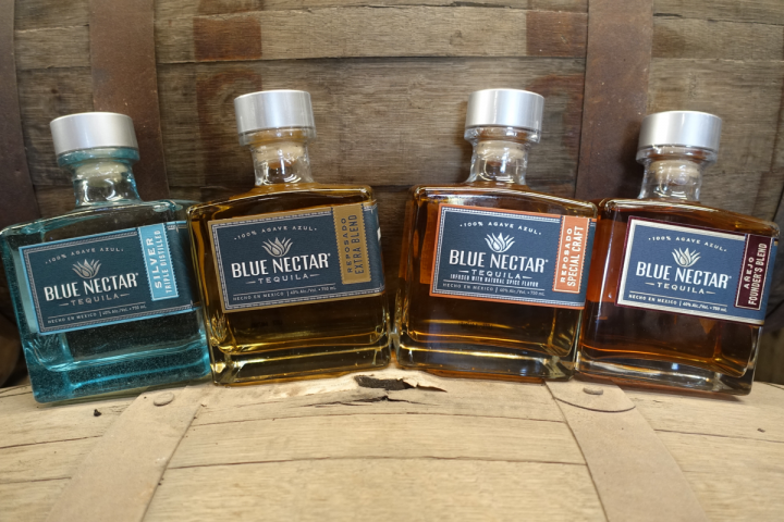 Blue Nectar Tequila—which includes a core range of Silver, Reposado Extra Blend, Reposado Special Craft and Añejo Founder's Blend—now offers one-of-a-kind blends for the on- and off-premise.