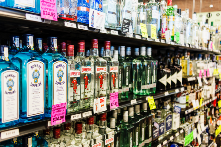 Spirits (pictured) make up nearly a third of Argonaut's sales, and regional brands do well.