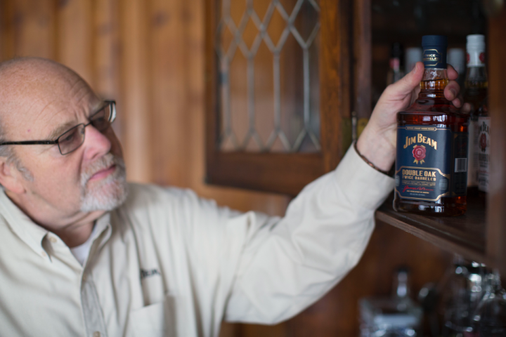 Jim Beam (master distiller and global ambassador Fred Noe pictured) launched a major packaging redesign this summer, its first in decades.
