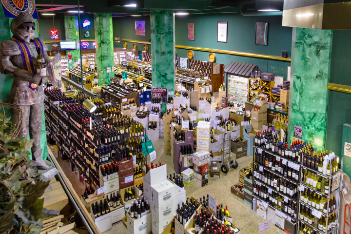 The chain's Minneapolis flagship (pictured) covers only 6,000 square feet, but carries roughly 22,000 wine SKUs, and about 66 percent  of the company's sales go to the category.