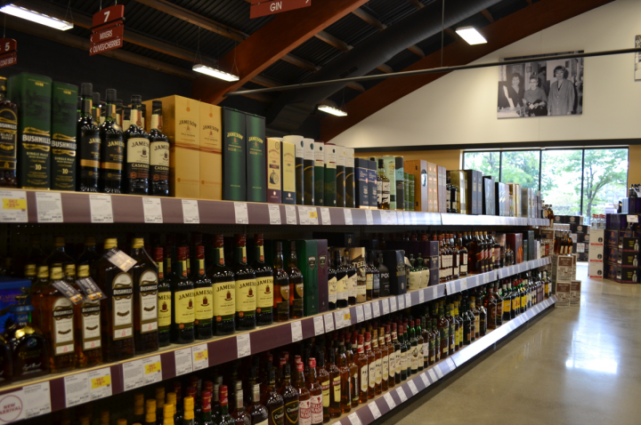 At Chicago-based Binny's Beverage Depot (Lincolnwood location pictured), newer Irish whiskey brands have taken off with younger consumers looking to experiment.