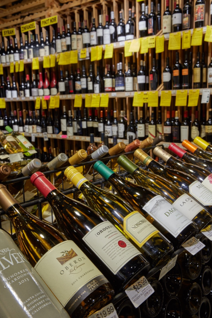 With wine representing 45 percent of sales, Vintage units stock around 1,400 SKUs.