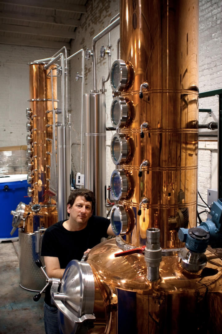 Craft producers outside of Kentucky, like Evanston, Illinois–based Few Spirits (founder Paul Hletko pictured), are also making forays into Bourbon.