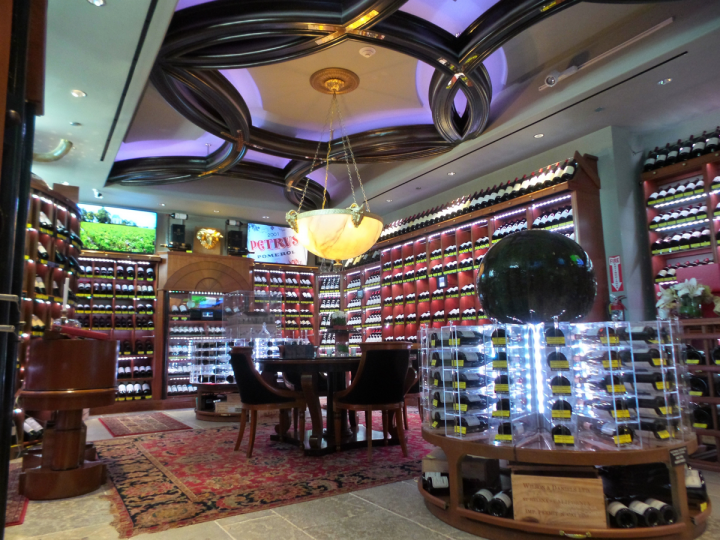 The new location of The Beverly Hills Wine Merchant in the Montage Hotel offers thousands of wine SKUs, with a focus on high-end Bordeaux, Burgundy and cult California wines. Luxury spirits round out the store's upscale lineup.